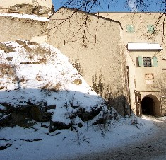 Burg Falkenstein im Winter